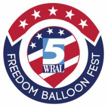 wral freedom balloon fest logo
