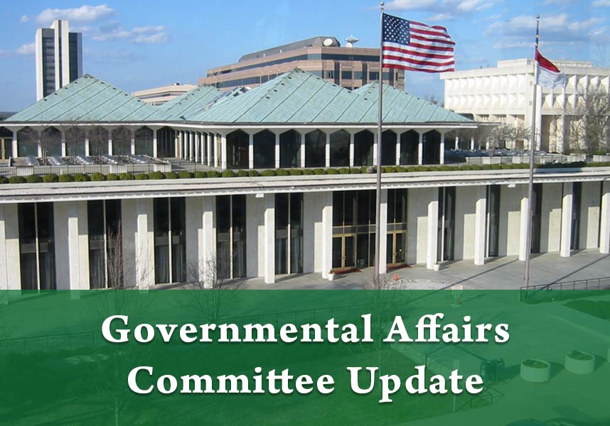 Governmental Affairs Committee Update - Fuquay-Varina Chamber