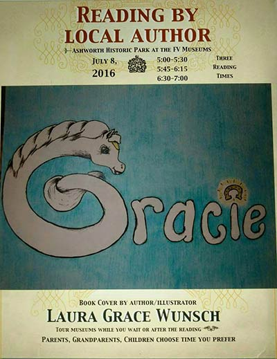 gracie book reading