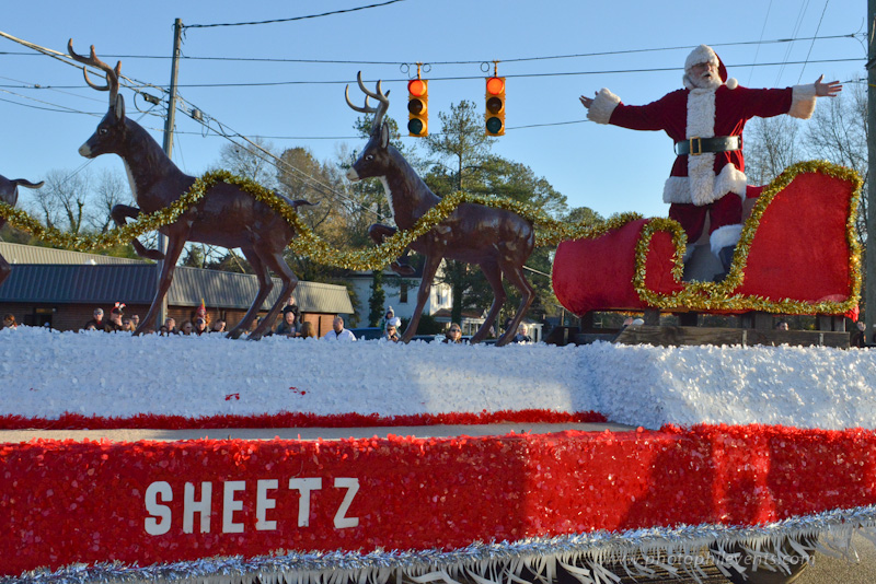 Fuquay-Varina Chamber of Commerce Annual Christmas Parade, 12-07-2014
